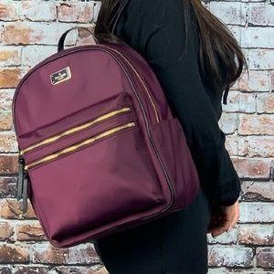Kate Spade Deep Plum Large Bradley Backpack